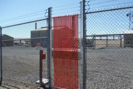 Slatted Chain Link Fence Gate