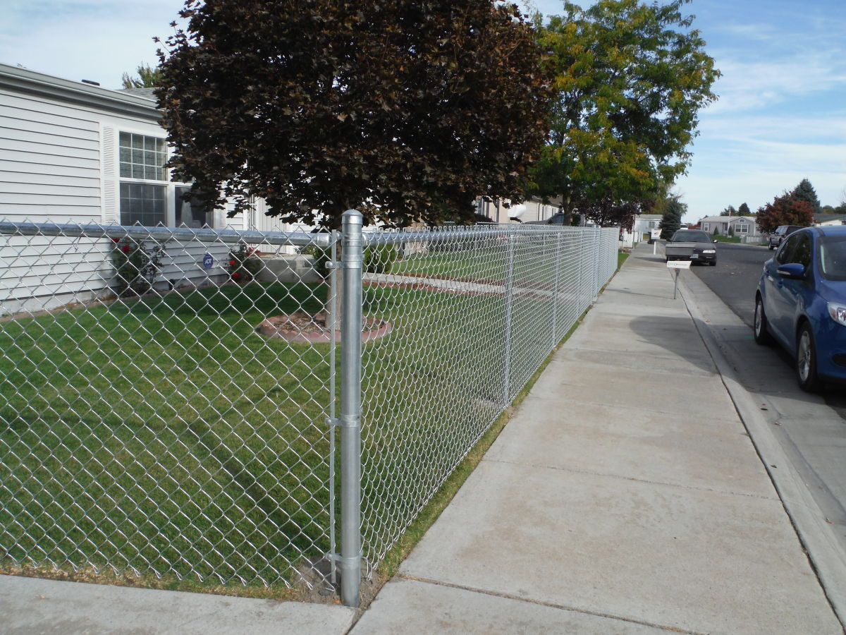 Chain link fence tite rite